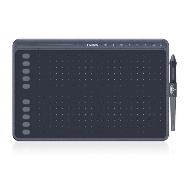 huion hs611 pen tablet drawing pad with battery-free stylus